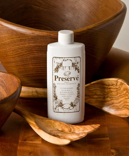 Preserve Woodenware Oil, A Natural food safe finish for wood