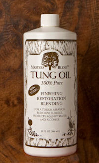Masters Blend Tung Oil-100% Pure is a great wood finish for your wood projects.